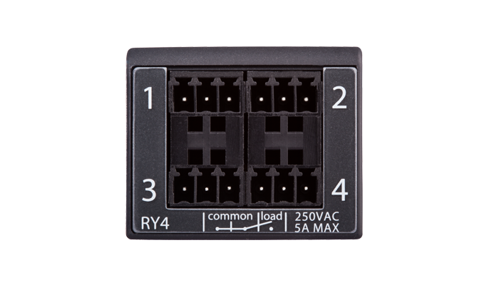 Command Fusion 4 x 250VAC 5A relay module